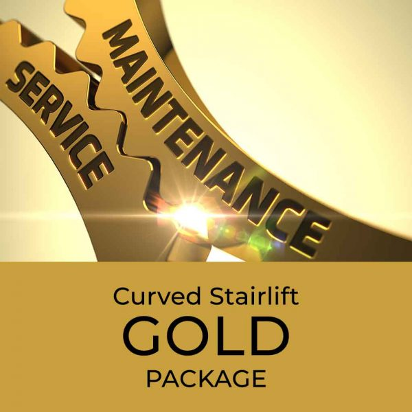 Curved Stairlift Gold Package
