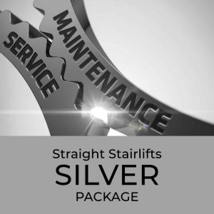 Straight Stairlift Silver Package