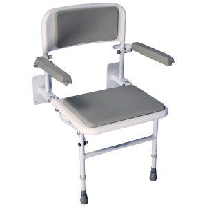 Padded Wall mounted Shower seat