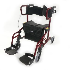 The Diamond deluxe - chair and rollator