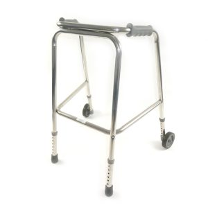 a domestic walker with wheels