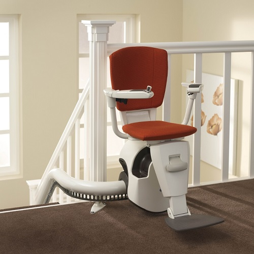 Access Flow curved stairlift