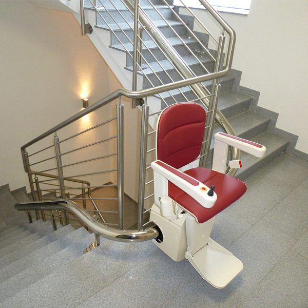 elegance curved stairlift