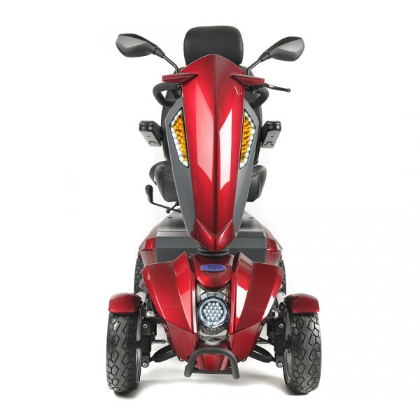 red mobility scooter in Taunton