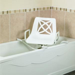 Swivel bath chair